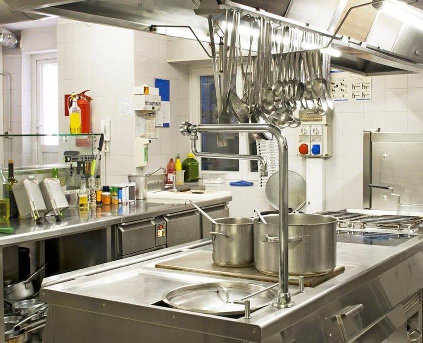 Pulizia cucine